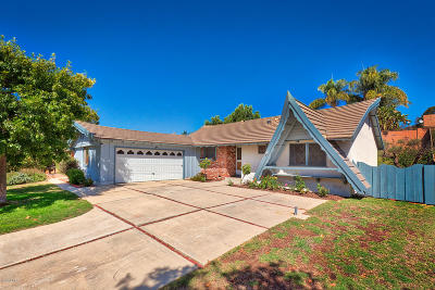 Newbury Park Single Family Home Active Under Contract: 3773 Bailey Court