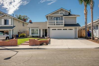 Ventura Single Family Home For Sale: 687 Rochester Court