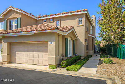Simi Valley Condo/Townhouse For Sale: 530 Bannister Way #D