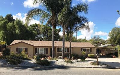 Thousand Oaks Single Family Home For Sale: 576 Calle Jazmin
