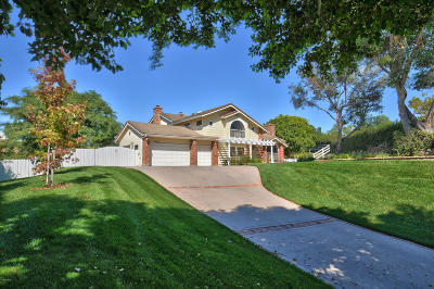 Camarillo Single Family Home Active Under Contract: 2580 Riave Court