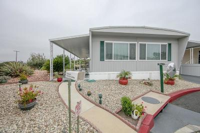Ventura Mobile Home For Sale: 118 Blackburn Place #118