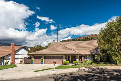 Fillmore Single Family Home Active Under Contract: 835 Woodgrove Road