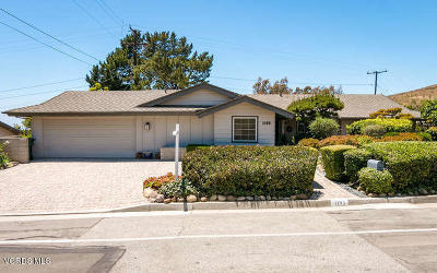 Ventura Single Family Home Active Under Contract: 1193 Colina Vista