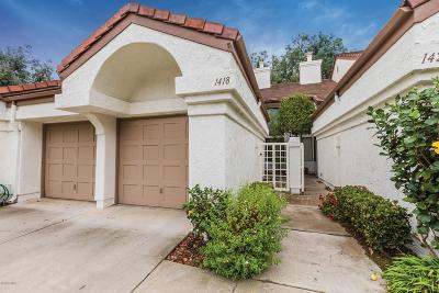 Camarillo Condo/Townhouse Active Under Contract: 1418 Calle Lozano