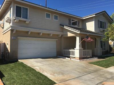Fillmore Single Family Home For Sale: 858 Hinckley Lane