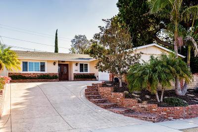 Ventura Single Family Home Active Under Contract: 288 Parsons Avenue