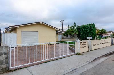 Oxnard Single Family Home For Sale: 210 Balsam Street