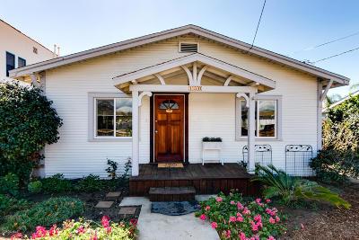 Ventura Single Family Home Active Under Contract: 150 W Harrison Avenue