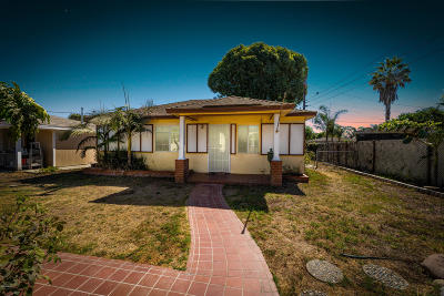 Oxnard Single Family Home Active Under Contract: 3652 Nyeland Avenue