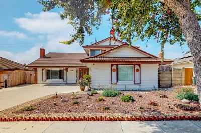 ventura Single Family Home For Sale: 1419 Exeter Avenue