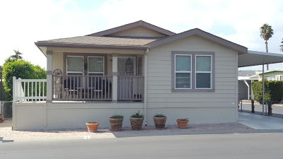 Camarillo Mobile Home Active Under Contract: 146 Via Rosal