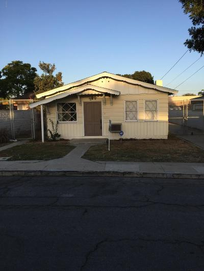 Ventura Single Family Home For Sale: 2422 Alameda Avenue
