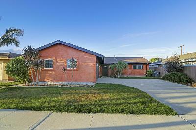 Oxnard Single Family Home For Sale: 2055 Walden Street