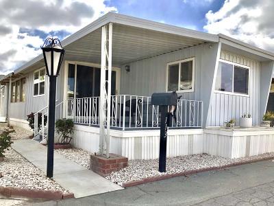 Ventura County Mobile Home Active Under Contract: 4388 Central Avenue #113