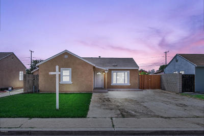 Oxnard Single Family Home For Sale: 150 E Birch Street