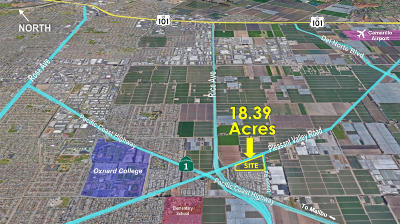 Oxnard Residential Lots & Land For Sale: E Pleasant Valley Road