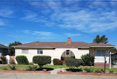 Oxnard Single Family Home Active Under Contract: 1063 Orange Drive