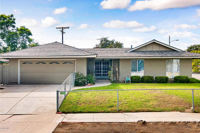 Ventura Single Family Home For Sale: 623 Springfield Avenue