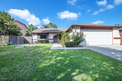 Oxnard Single Family Home Active Under Contract: 861 Devilfish Drive