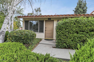 Newbury Park Condo/Townhouse For Sale: 1386 Ramona Drive
