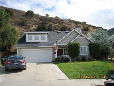 Fillmore Single Family Home For Sale: 1168 Shady Lane