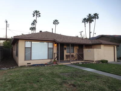Santa Paula Single Family Home For Sale: 317 Craig Drive