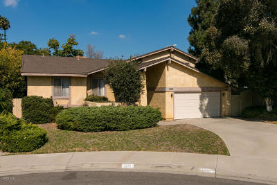 Camarillo Single Family Home For Sale: 1691 Dara Street