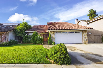 Newbury Park Single Family Home For Sale: 869 Cayo Grande Court