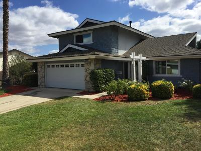 Newbury Park Single Family Home For Sale: 3860 Northland Street