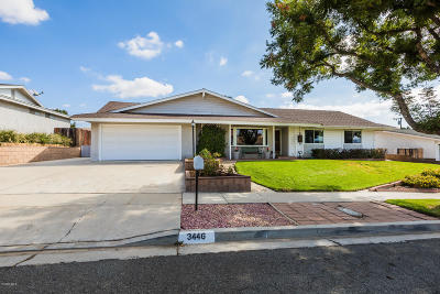 Simi Valley Single Family Home Active Under Contract: 3446 Dalhart Avenue
