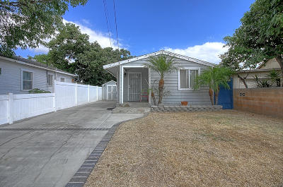 Santa Paula Single Family Home For Sale: 139 S Palm Avenue