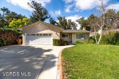 Ventura Single Family Home For Sale: 5465 Bryn Mawr Street