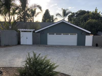 Camarillo Single Family Home For Sale: 603 Via Del Cerro