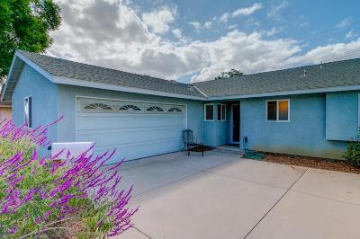 Ventura Single Family Home For Sale: 859 Olympia Avenue