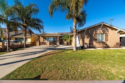 Oxnard Single Family Home For Sale: 131 Glacier Avenue