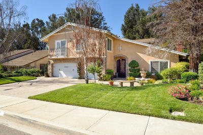 Camarillo Single Family Home For Sale: 2111 Calaveras Drive