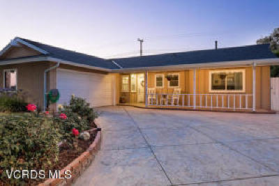 Simi Valley Single Family Home For Sale: 2217 Stinson Street