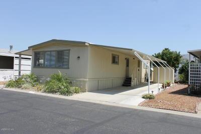 Ventura County Mobile Home Active Under Contract: 250 E Telegraph Road #188