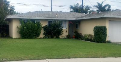 Port Hueneme Single Family Home Active Under Contract: 751 Myrna Drive
