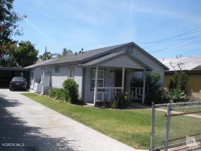 Port Hueneme Multi Family Home For Sale: 321 2nd Street