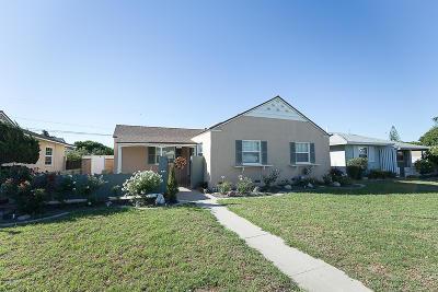 Oxnard Single Family Home For Sale: 1016 W Deodar Avenue