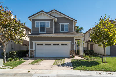 Oxnard Single Family Home For Sale: 5324 Gibson Place #P1