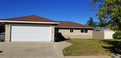 Oxnard Single Family Home For Sale: 4711 Reading Drive