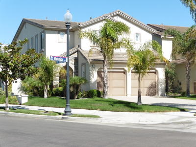 Oxnard CA Single Family Home Active Under Contract: $1,075,000