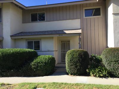 Ventura Condo/Townhouse For Sale: 8542 Truckee Drive