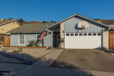Ventura Single Family Home For Sale: 2542 Cedar Street