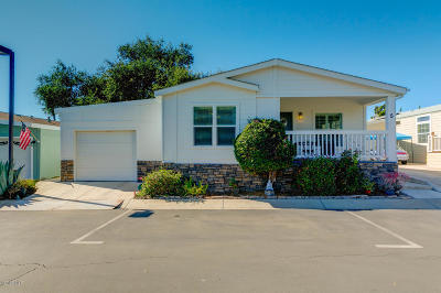 Ojai Mobile Home For Sale: 1885 Maricopa Highway #5