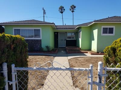 Oxnard Single Family Home Active Under Contract: 3023 S E Street