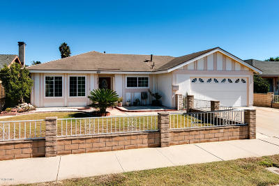 Oxnard Single Family Home For Sale: 4900 Justin Way